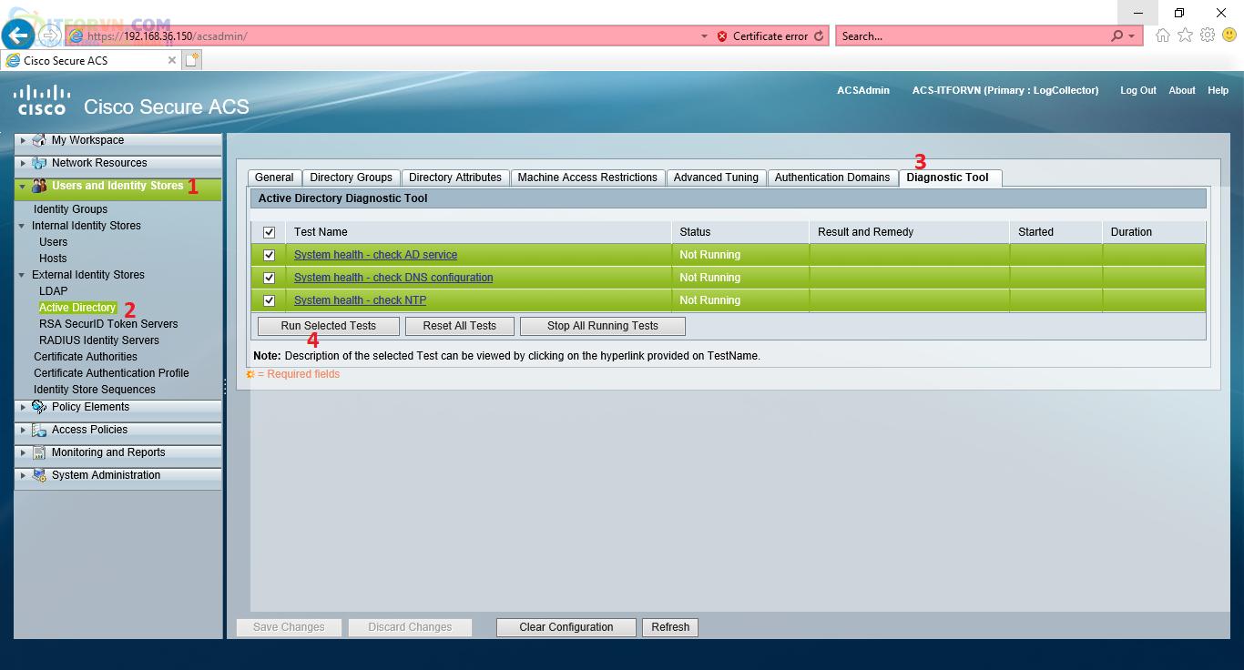 H41. Kiểm tra Dịch vụ để Join Domain