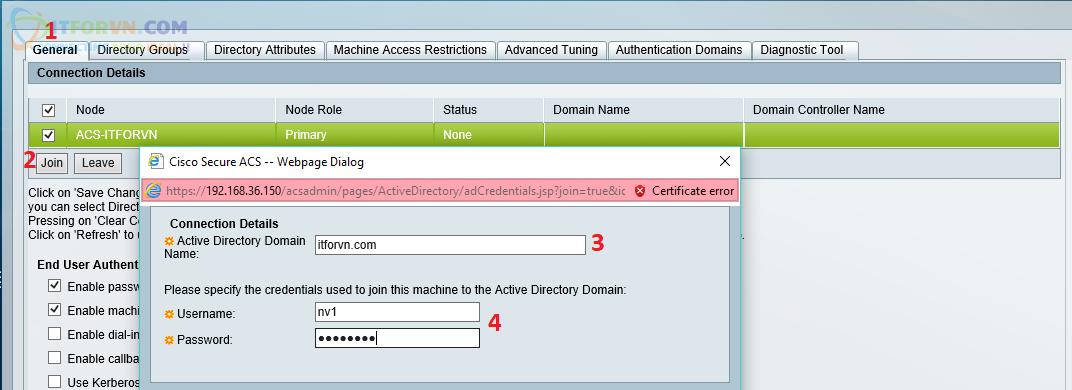 H43. Join Domain itforvn