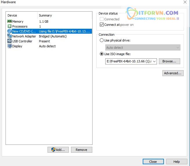 ITFORVN.COM New0138 Hướng dẫn cài đặt tổng đài FreePBX