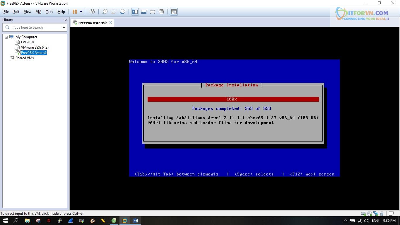 ITFORVN.COM New0143 Hướng dẫn cài đặt tổng đài FreePBX