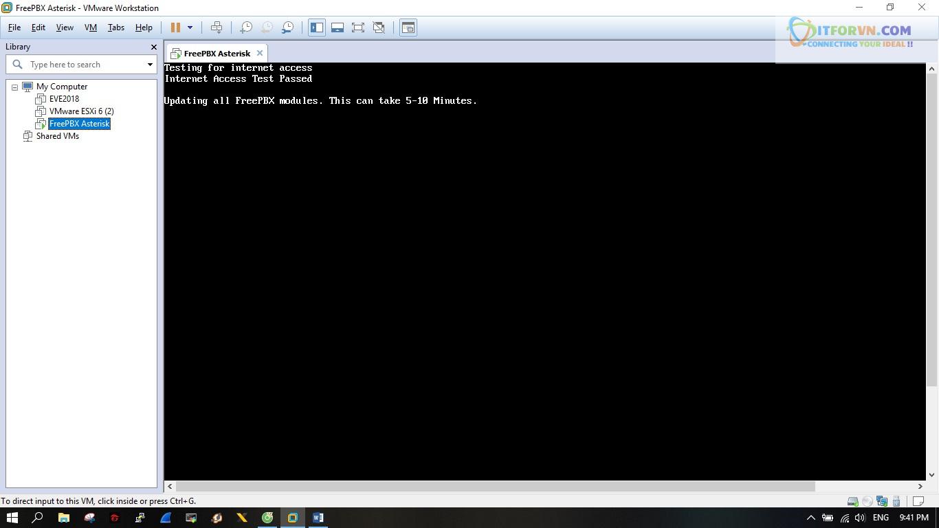 ITFORVN.COM New0144 Hướng dẫn cài đặt tổng đài FreePBX