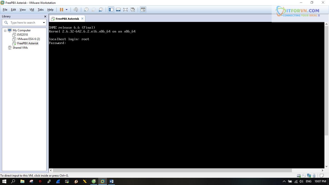 ITFORVN.COM New0145 Hướng dẫn cài đặt tổng đài FreePBX