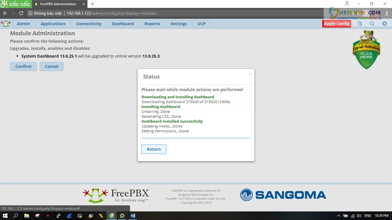 ITFORVN.COM New0165 Hướng dẫn cài đặt tổng đài FreePBX