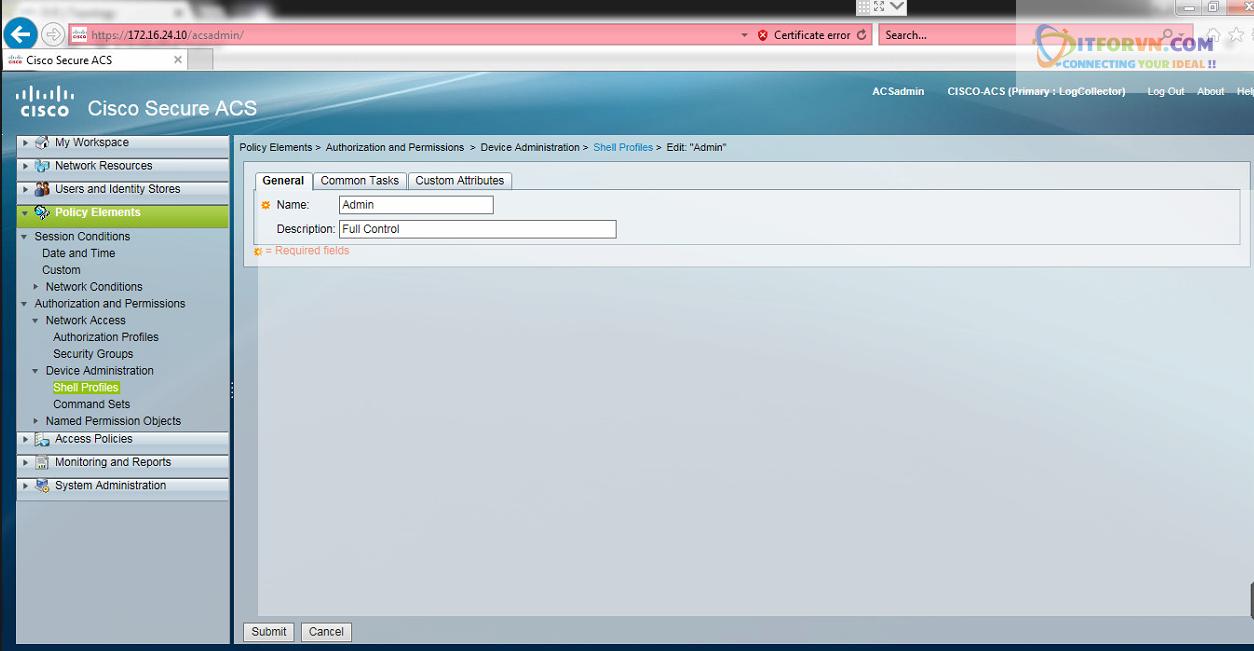 New0203 - Hướng dẫn cấu hình xác thực giữa Cisco ACS với thiết bị router, switch