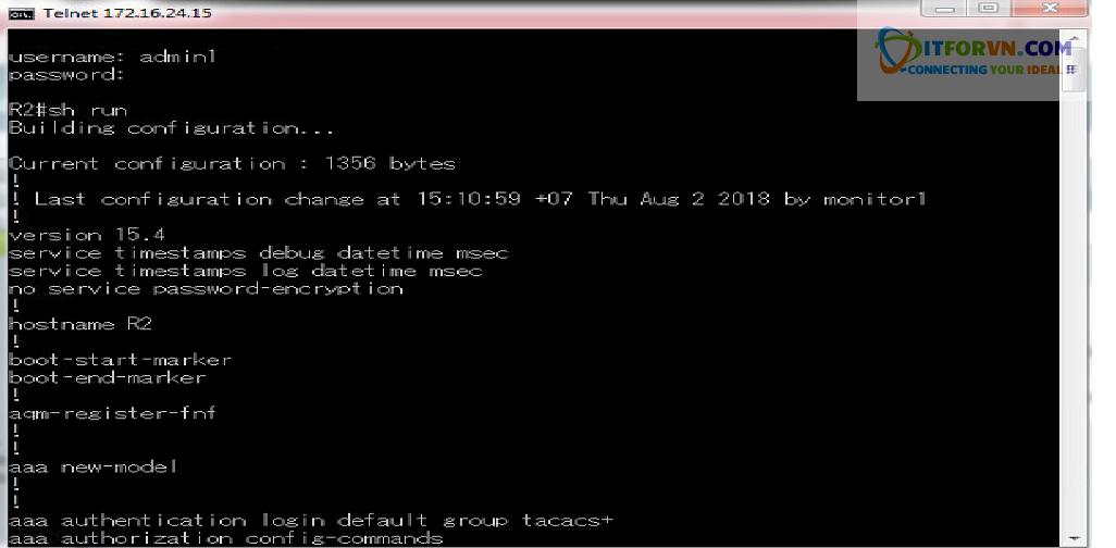 New0210 - Hướng dẫn cấu hình xác thực giữa Cisco ACS với thiết bị router, switch