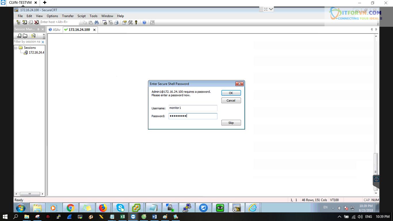 ITFORVN.COM New0224 Cấu hình xác thực giữa ACS với ASA