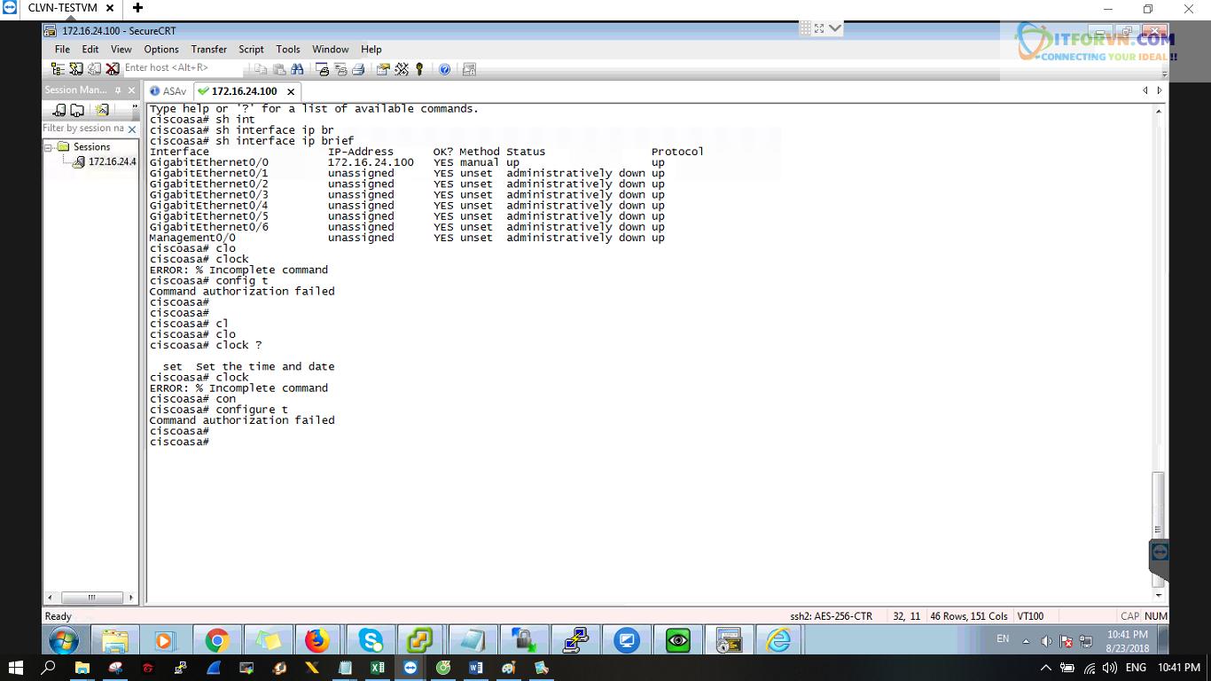 ITFORVN.COM New0226 Cấu hình xác thực giữa ACS với ASA