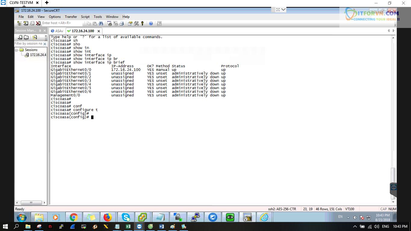 ITFORVN.COM New0228 Cấu hình xác thực giữa ACS với ASA