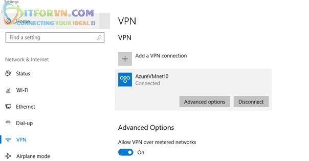 ITFORVN.COM Untitled30 Microsoft Azure Toàn Tập – Lab 5: Cấu hình VPN point to site trên Azure -  Azure Resource Manager vpn point to site vpn point to point vpn azure arm vpn azure point to site vpn azure point to point vpn azure azure vpn