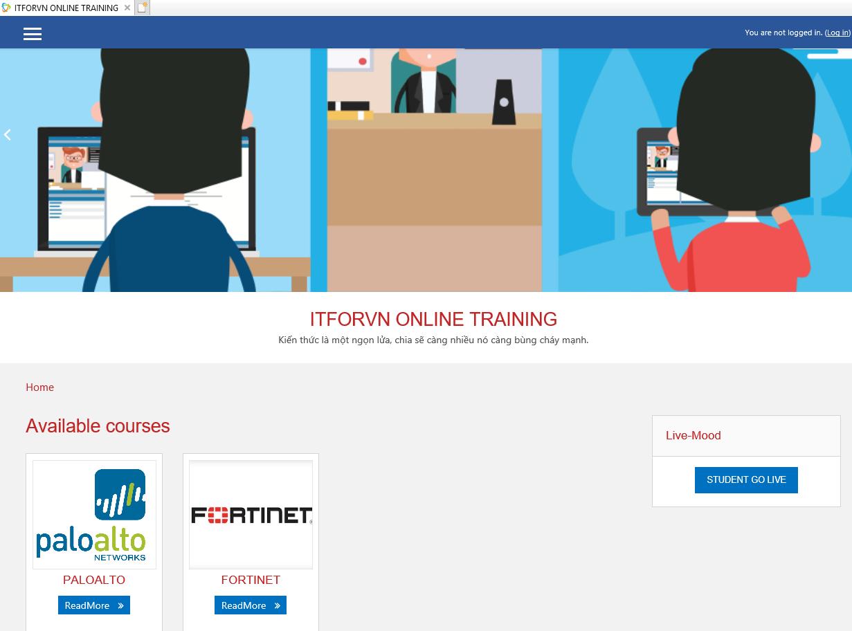 ITFORVN.COM Online-Training Event Ra Mắt Flatform Đào Tạo Trực Tuyến
