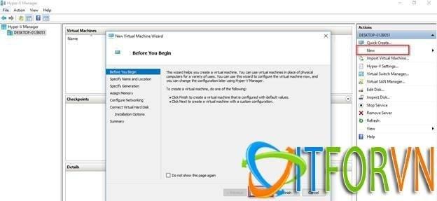 ITFORVN.COM image001 Cách Cài Đặt EVE-NG Trên Máy Ảo Hyper-V Image EVE-NG