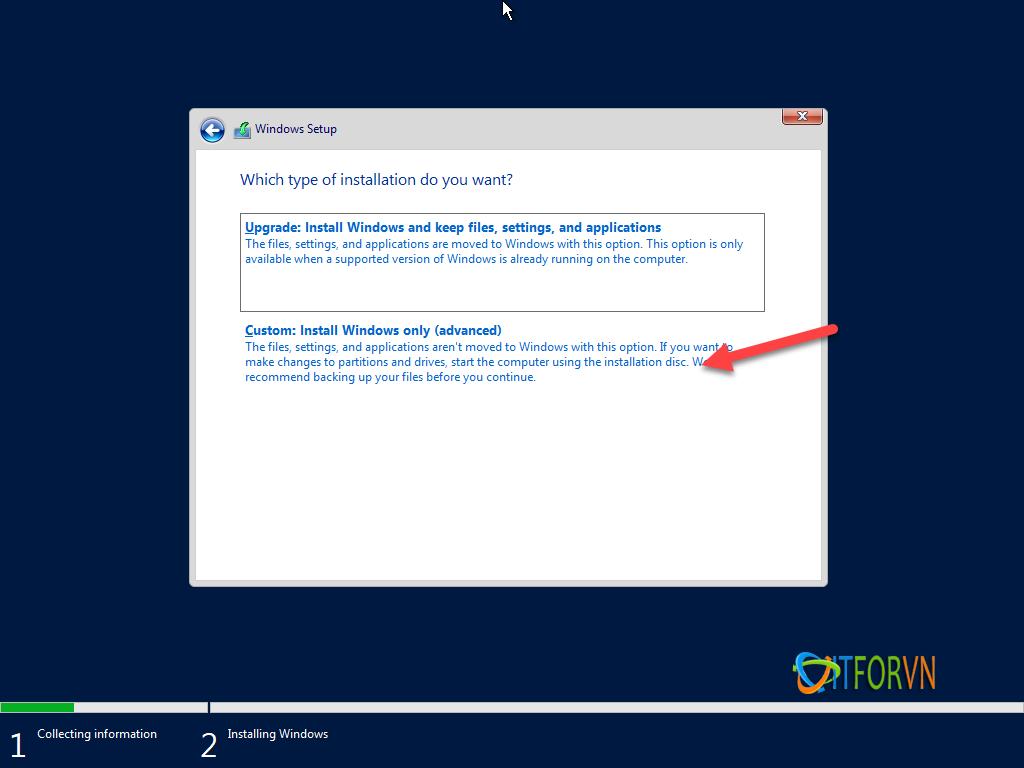 ITFORVN.COM install-windows-server-2019-5 [Tự Học MCSA 2019] Bài 1: TRIỂN KHAI CÀI ĐẶT HỆ ĐIỀU HÀNH WINDOWS SERVER 2019