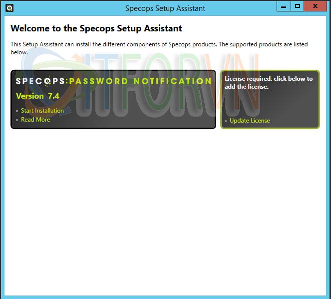 1 - Specops Password Notification: Thông báo cho người dùng mật khẩu hết hạn qua Email