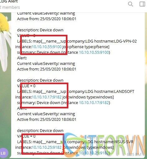 ITFORVN.COM 14 [Prometheus từ A đến Z] Phần 07. Cấu hình Alert trong Prometheus gửi tin nhắn qua telegram prometheus alert Prometheus cấu hình alert trong prometheus alert trong prometheus alert qua telegram