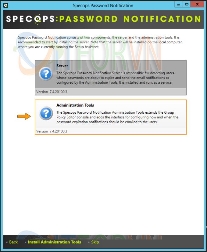 2 - Specops Password Notification: Thông báo cho người dùng mật khẩu hết hạn qua Email