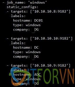 4 - [Prometheus từ A đến Z] Phần 02. Giám sát Windows Server với Prometheus