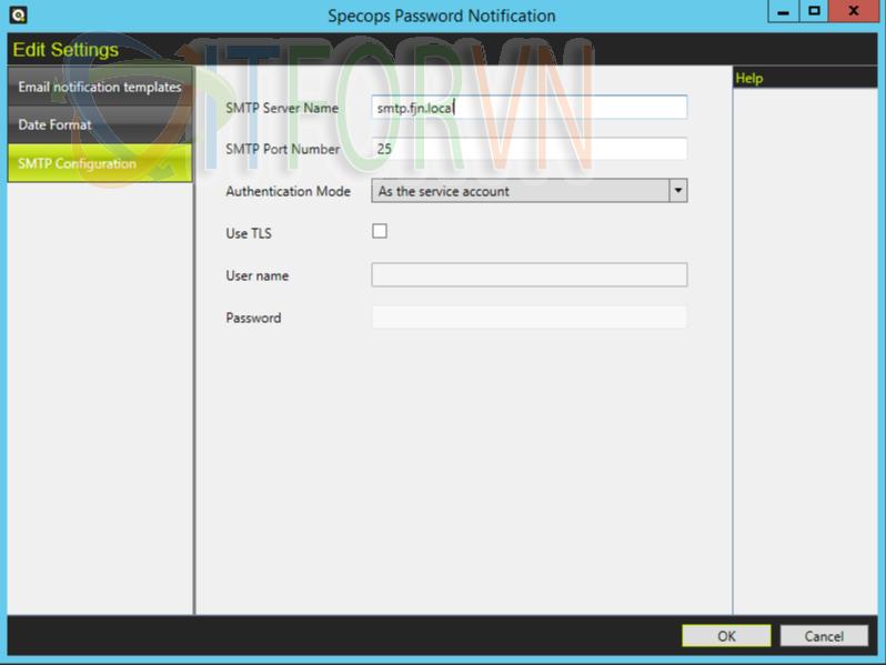 6 1 - Specops Password Notification: Thông báo cho người dùng mật khẩu hết hạn qua Email