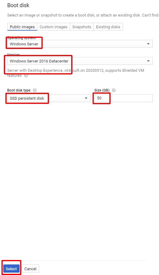 4 - Hướng dẫn cài đặt Wiki JS trên Windows Server 2016 - Google Cloud Platform