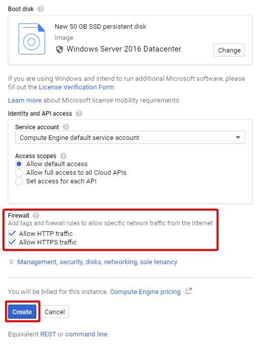 5 - Hướng dẫn cài đặt Wiki JS trên Windows Server 2016 - Google Cloud Platform