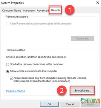 ITFORVN.COM 112020_0831_Hngdncuh6 Cấu hình cho phép nhiều User cùng Remote Desktop vào Windows Sever 2016 Allow Multiple Remote Desktop