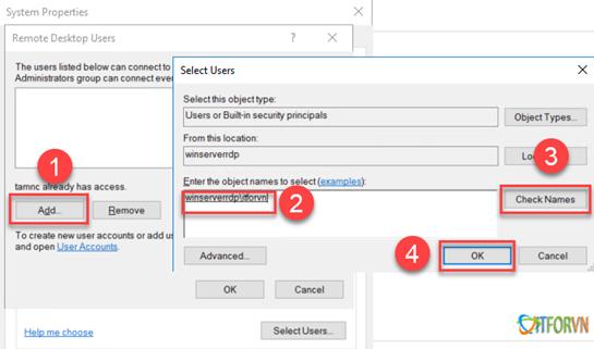 ITFORVN.COM 112020_0831_Hngdncuh7 Cấu hình cho phép nhiều User cùng Remote Desktop vào Windows Sever 2016 Allow Multiple Remote Desktop
