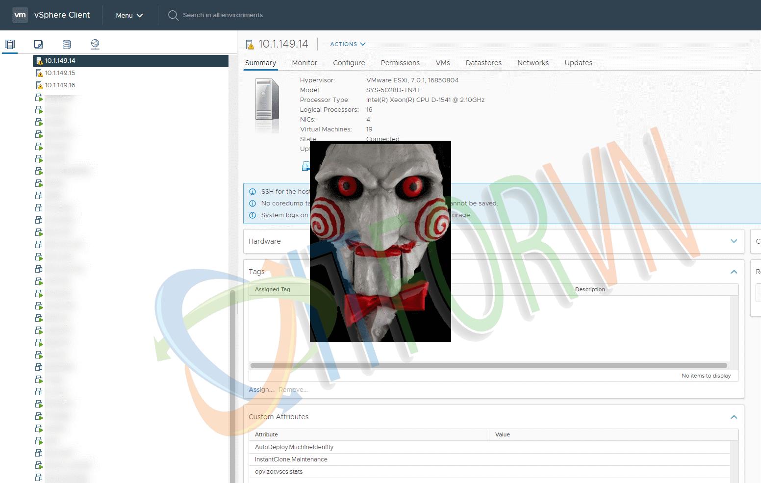 ITFORVN.COM 1.1 RANSOMWARE VÀ NHỮNG NGUY HẠI ĐỐI VỚI ESXi SERVER Ransomware ESXi SERVER ESXi Ransomware ESXi