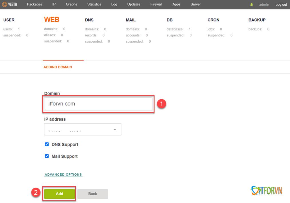 ITFORVN.COM 122820_0759_HngdnciW6 Hướng dẫn cài Wordpress cực kỳ đơn giản trên Ubuntu sử dụng Vesta CP để tạo Website