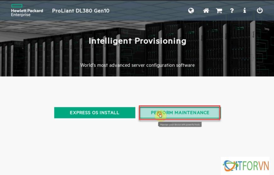 ITFORVN.COM HP380gen10_2-1 Hướng dẫn cấu hình IP ILO máy chủ HP DL380 Gen10