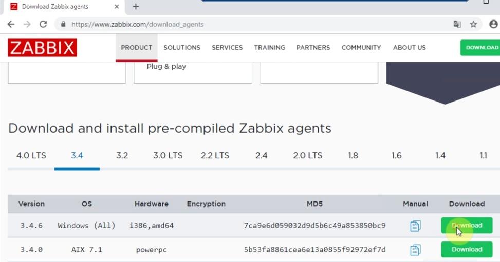 ITFORVN.COM zabbix-windows-1 Zabbix monitoring network 3: Cấu hình Add Host Windows
