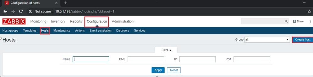 ITFORVN.COM zabbix-windows-10 Zabbix monitoring network 3: Cấu hình Add Host Windows