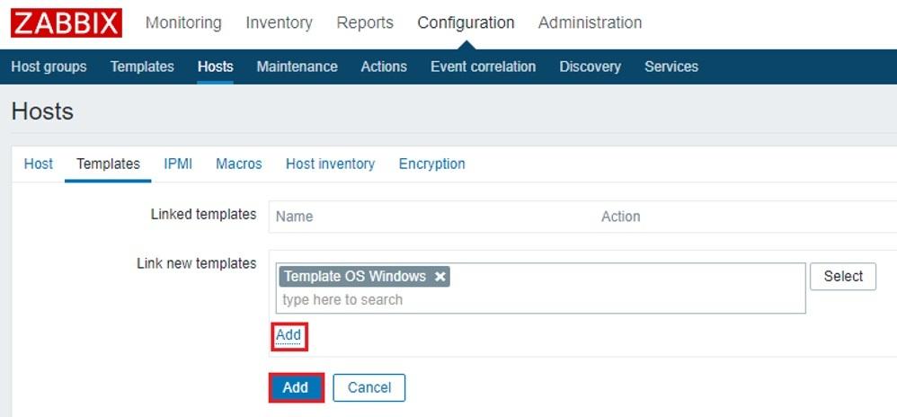 ITFORVN.COM zabbix-windows-14 Zabbix monitoring network 3: Cấu hình Add Host Windows