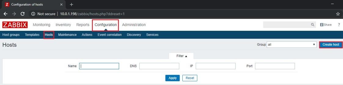 ITFORVN.COM zabbix-5-2 Zabbix monitoring network 5: Cấu hình Add Network Device