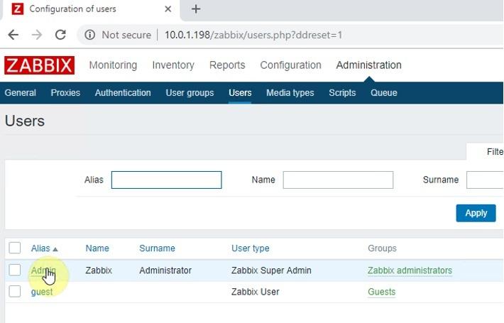 ITFORVN.COM zabbix-6-3 Zabbix monitoring network 6: Mail Alert