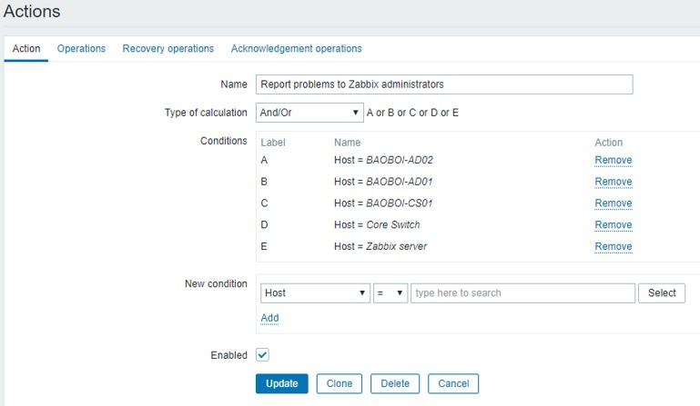 ITFORVN.COM zabbix-6-7 Zabbix monitoring network 6: Mail Alert