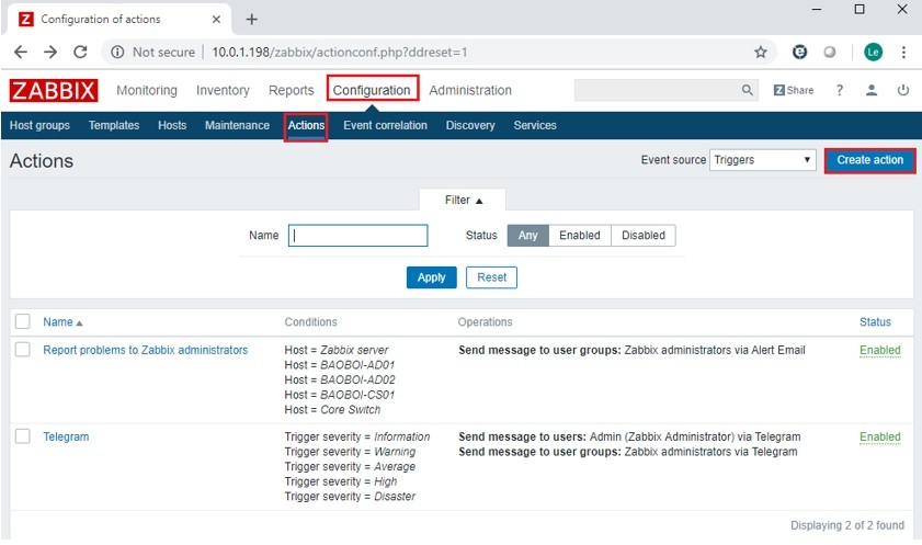 ITFORVN.COM zabbix-7.8 Zabbix monitoring network 7: Mail Alert