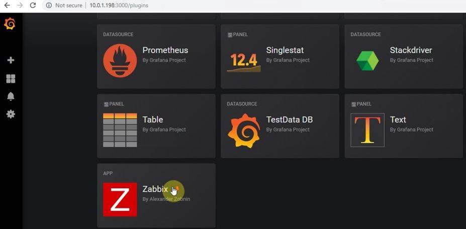 ITFORVN.COM zabbix-8.3 Zabbix monitoring network 8: Zabbix Grafana