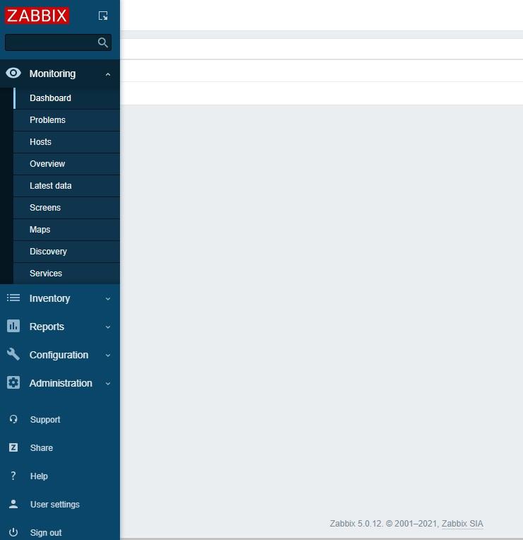 Zabbix 10.1 - Zabbix monitoring network 10:Upgrade Zabbix from 4.4 to 5.0 LTS