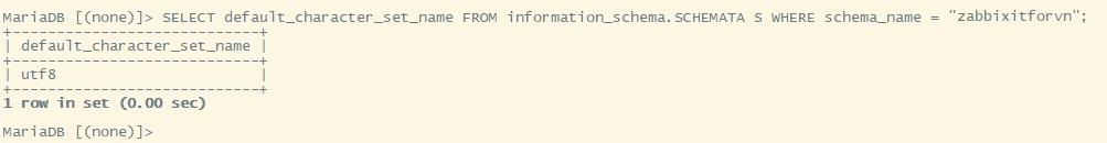 Zabbix 9.5 1 - Zabbix monitoring network 9: Convert character Zabbix Database